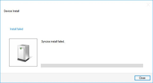 syncios download file failed