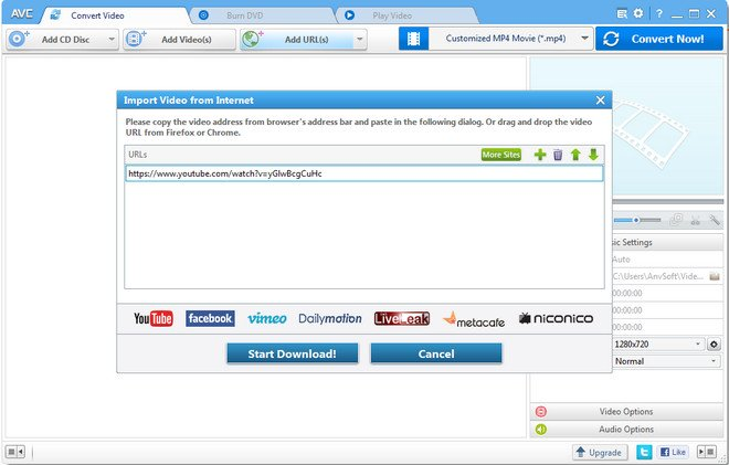 Download Music with Any Video Converter