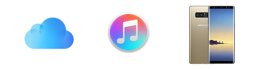iTunes and iCloud backup to Samsung Galaxy Note 8 on Mac