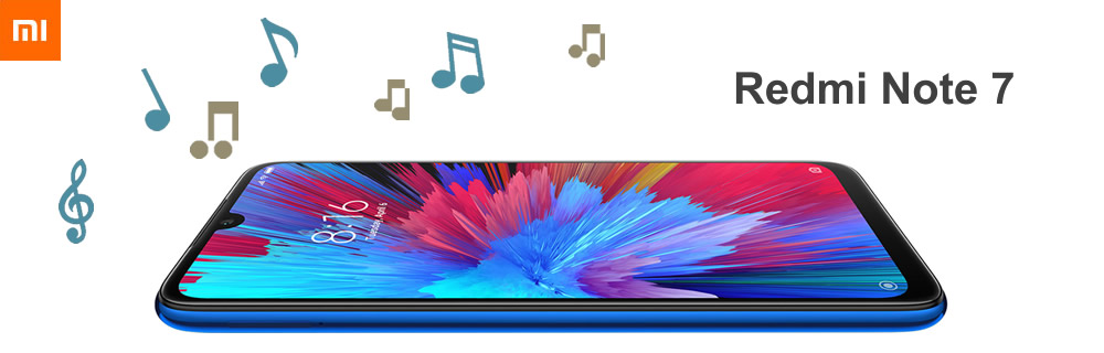 import music to redmi note 7