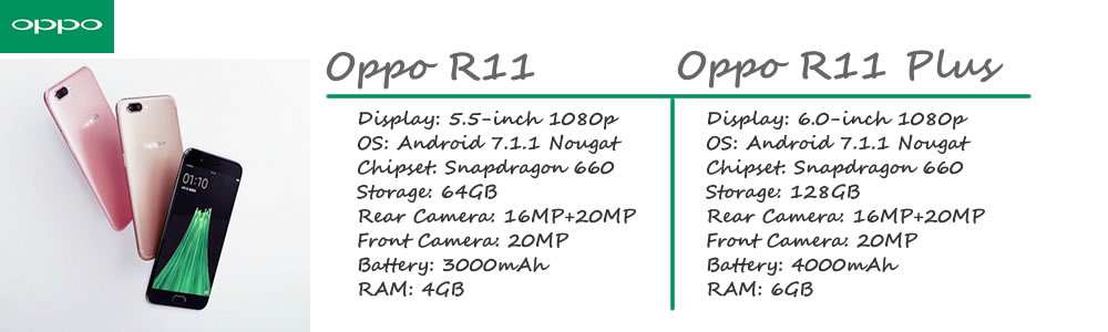 oppo r11 r11 plus feature