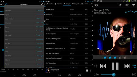 Rocket Music Player App for Android