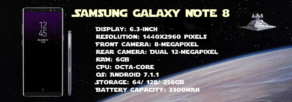 samsung galaxy note 8 specs