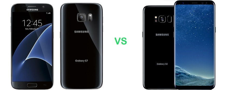 Samsung Galaxy s7 vs Samsung Galaxy s8