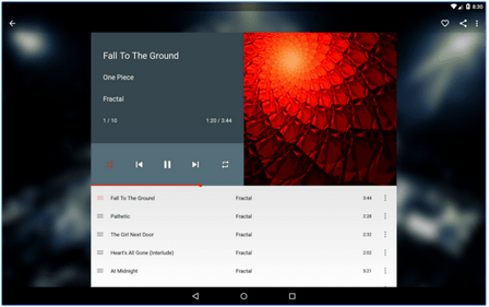 Shuffle+ Music Player App for Android user