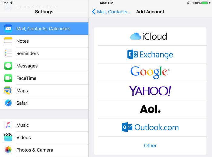 Syncios iPhone Contacts Transfer