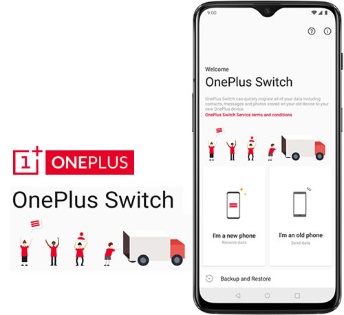 use oneplus switch to backup oneplus 7 photos
