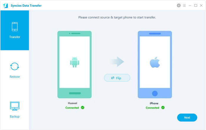 Android to iOS Data Transfer