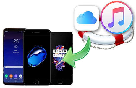 restore itunes and iclous backup to device