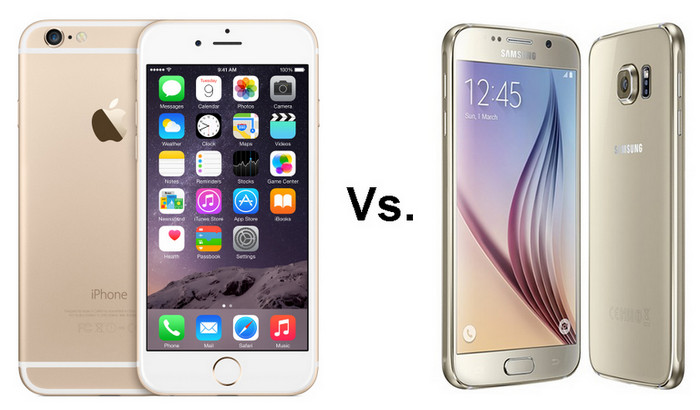 Samsung Galaxy Vs iPhone 6