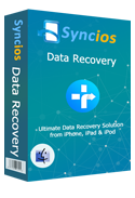 Product box of syncios data recovery mac