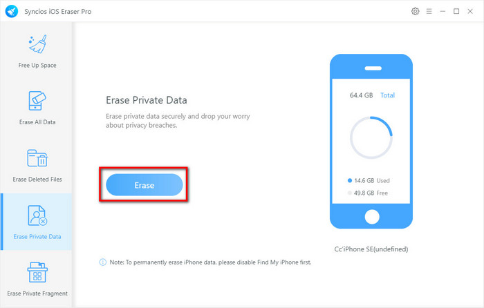 scan private data of social apps