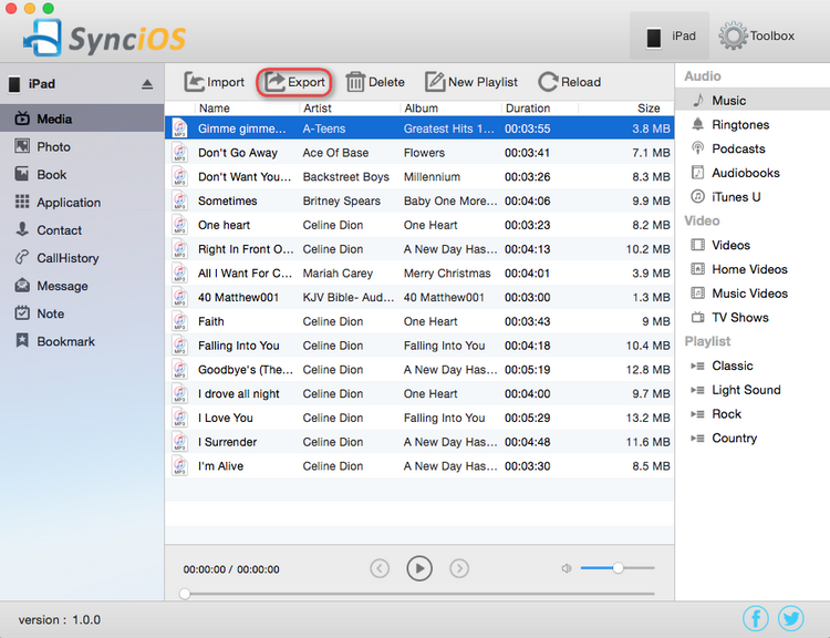 Transfer iPhone Music to Mac without iTunes