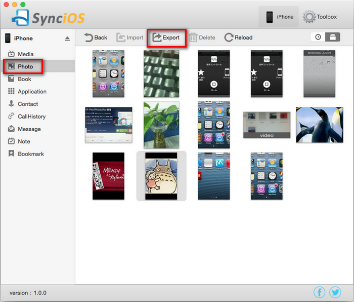 Backup iPhone Camera Roll to Mac for Free