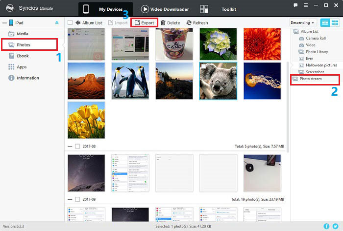Download iCloud's Photo Stream to PC