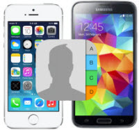 sync iPhone Contacts to Samsung Galaxy S5