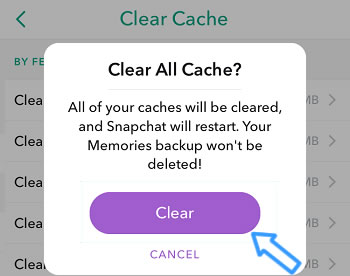 erase snapchat data by panfone