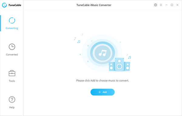 apple music converter interface